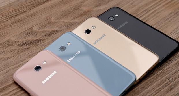«Малика» савдо марказида Samsung смартфонлари нархлари (2017 йил 27 февраль)