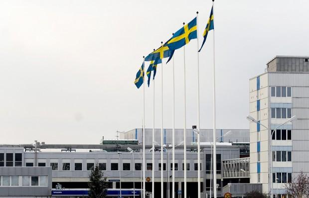 Volvo'нинг Швециядаги заводида ёнғин чиқди