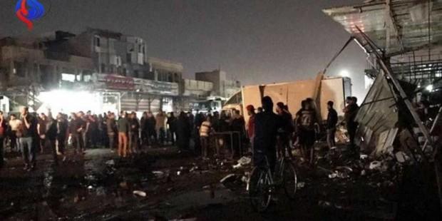 Бағдоддаги терактда 17 киши ҳалок бўлди