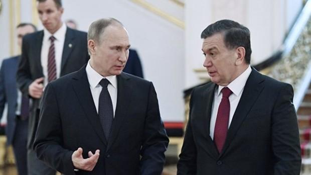 Шавкат Мирзиёевнинг Россияга давлат ташрифи якунланди