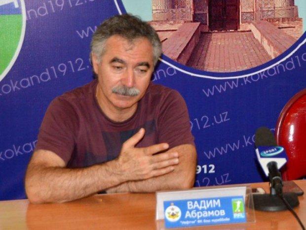 """Vadim Abramov: """"Yaxshi o'ynadik, ammo natijaga erisha olmadik"""""""
