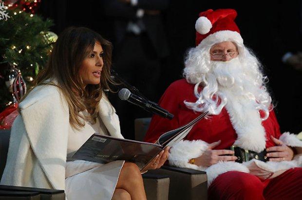 Мелания Трамп Рождество байрамига қандай совға исташини маълум қилди