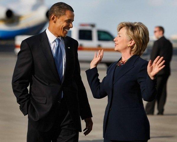 Barak Obama va Xillari Klinton AQSHdagi eng yorqin shaxslar reytingida yetakchilik qilishmoqda