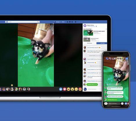 Endi «Facebook»da videolarni jamoa bo'lib tomosha qilish imkoni mavjud