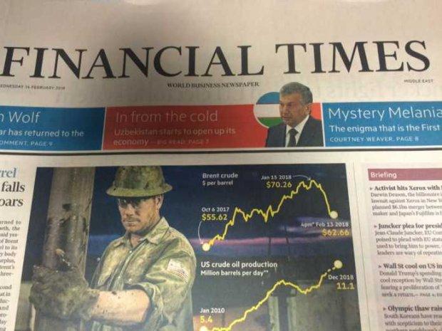 Ўзбекистон ҳақида «Financial Times» номли машҳур газетада катта мақола чоп этилди!