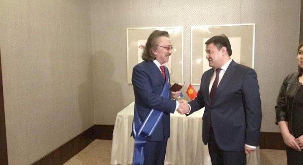 Фаррух Зокиров Қирғизистон президенти номидан «Дўстлик» ордени билан тақдирланди