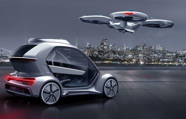 «Audi» учар автомобиль модулини тақдим этди (фото)