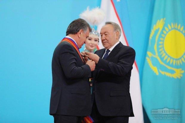 Шавкат Мирзиёев биринчи даражали «Дўстлик» ордени билан тақдирланди