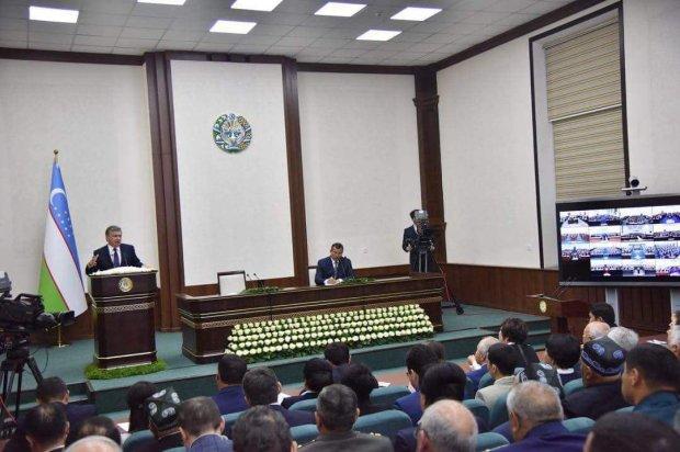 Shavkat Mirziyoyev: