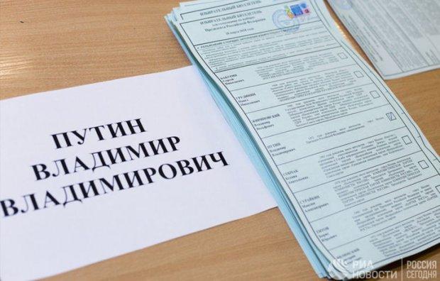 Rossiyadagi saylovning dastlabki natijalari e'lon qilindi