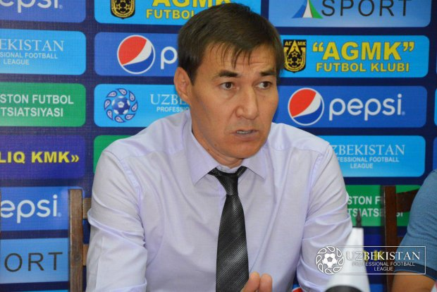 """Baxtiyor Ashurmatov: """"Futbolchi almashtirishda xato qildim"""""""