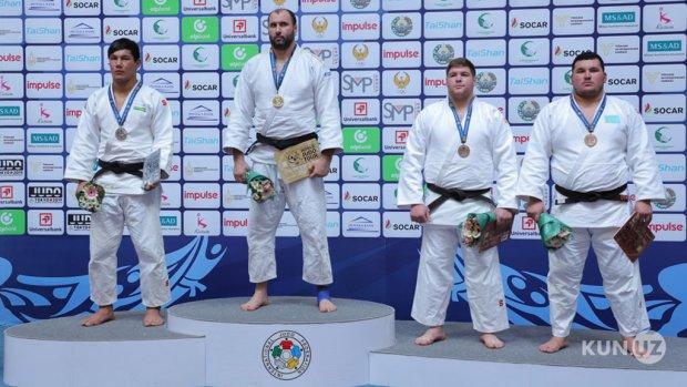 Dzyudochilarimiz Toshkent Gran-Prisida 5-o'rin bilan kifoyalandi