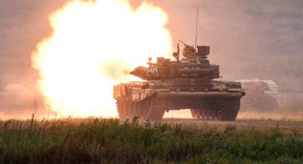 Россияда энг замонавий Т-90МС танк синовдан ўтказилди (видео)