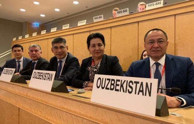 Ўзбекистон делегацияси Женевада халқаро меҳнат конференциясида иштирок этмоқда