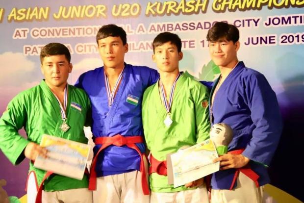 Курашчиларимиз Осиё чемпионатининг биринчи кунида 12 та медални қўлга киритишди