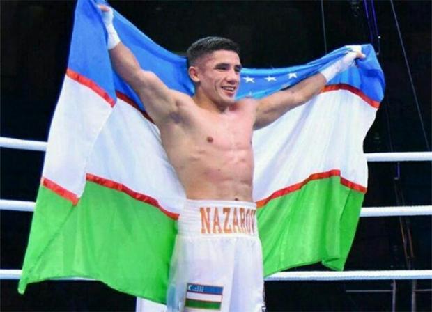 Ўзбекистонлик боксчи чемпионлик камари учун рингга чиқади
