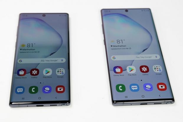 Samsung иккита янги смартфонини тақдим қилди (видео)