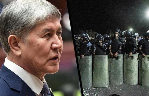 Almazbek Atambayev 26-avgustga qadar hibsga olindi