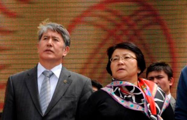 «Uning o'zi aybdor»: Otunbayeva Atamboyevning hibsga olinishini izohladi