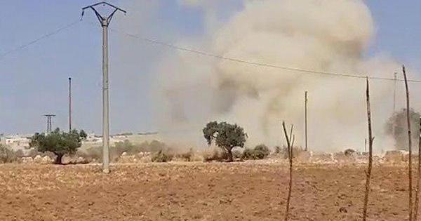 Suriya harbiylari turklar konvoyiga hujum qildi, uch kishi halok bo'ldi (foto, video)