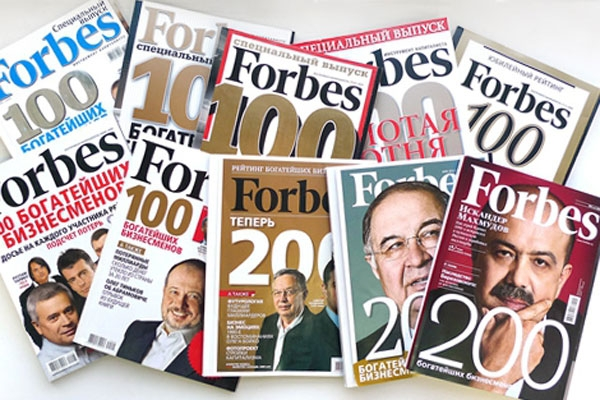 Forbes Россиянинг энг бой оилалари рейтингини эълон қилди