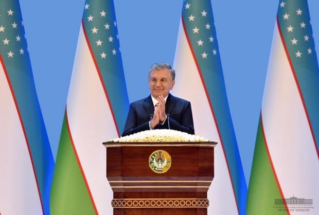 Президент Узбекистана Шавкат Мирзиёев поздравил народ Узбекистана с Днем независимости
