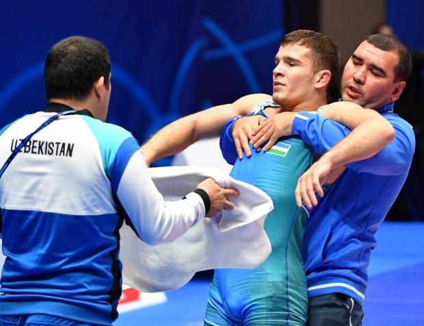 Nur-Sultonda ilk medal. Aram Vardanyan kumush bilan kifoyalandi, Assakalov bronza uchun kurashadi