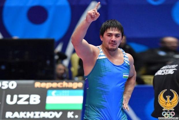 Erkin kurash: Hasanboy Rahimov Tokio Olimpiadasiga yo'llanmani qo'lga kiritdi