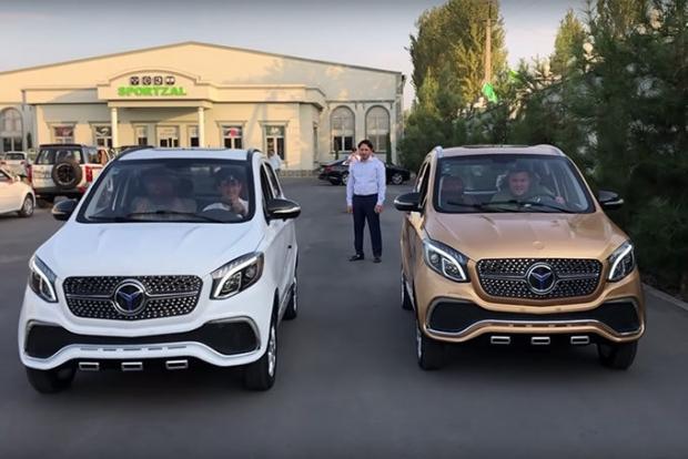 Кўриниши Mercedes AMG'га ўхшайдиган Қўқон электромобиллари (видео)