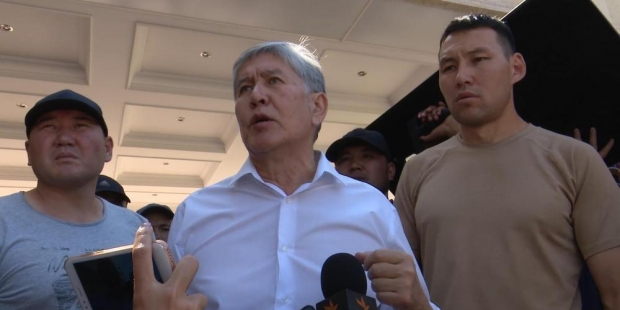 Собиқ президент Алмазбек Атамбоевнинг тансоқчиси ҳибсга олинди