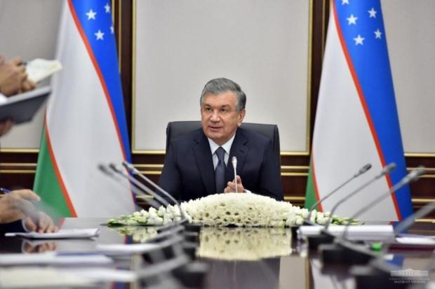 Shavkat Mirziyoyev fond bozorini rivojlantirish masalalariga bag'ishlangan yig'ilish o'tkazdi