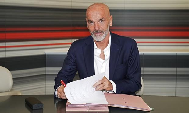 """Rasman: Pioli """"Milan"""" bosh murabbiyi"""