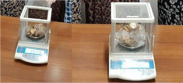 1 килограммдан ортиқ заргарлик буюмларининг ноқонуний айланмасига чек қўйилди