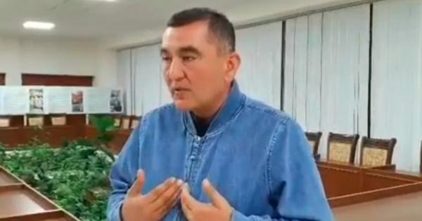 Otaxonni haqoratlagan Mirishkor tumani hokimi uzr so'radi (video)