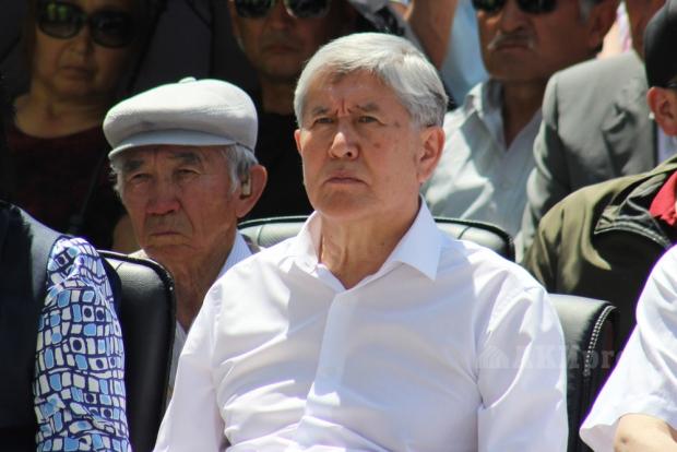 Алмазбек Атамбоев суд жараёнида иштирок этишдан бош тортди