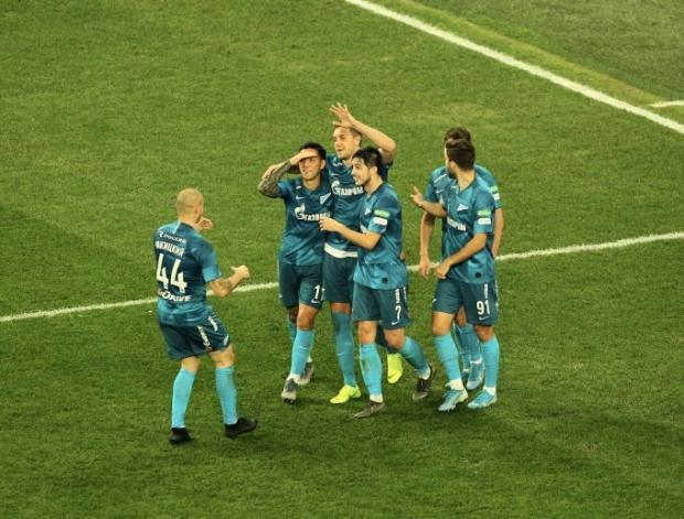"""Zenit"" o'z maydonida ""Rostov""ni tor-mor keltirdi"