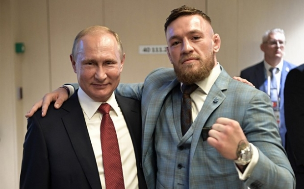 Конор Макгрегор ушбу ҳафта Москвага боради