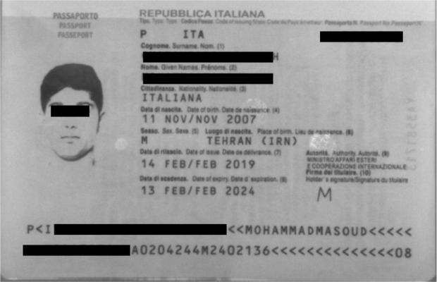 """Тошкент аэропортида """"Италия"""" фуқаролари қалбаки паспорт билан қўлга тушди"""