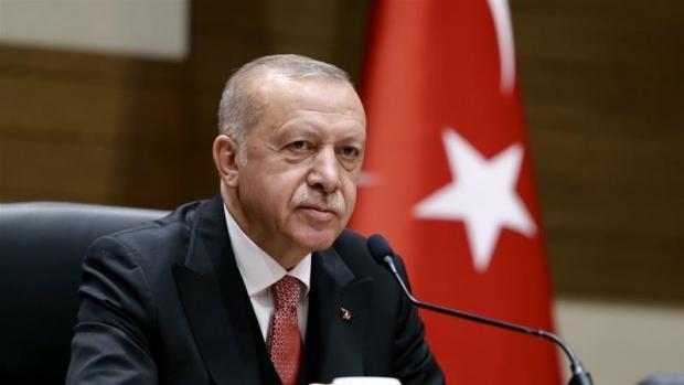 Эрдўған: Туркия Суриядан АҚШ ва Россия кетмагунча кетмайди