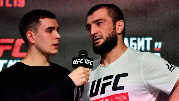Нурмагомедовнинг акаси UFC даги дебют жангида ютқазгандан кейин баёнот берди