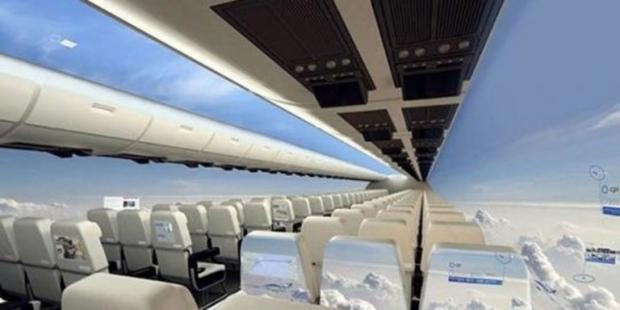 Кутиб олинг янги инновацион технология: ойнасиз самолётлар (видео)