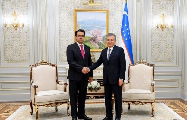 Shavkat Mirziyoyev Dushanbe shahri raisini qabul qildi
