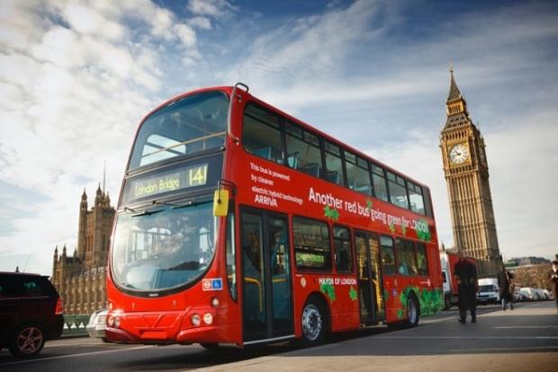Лондоннинг икки қаватли автобусларига нечи киши чиқса бўлади?