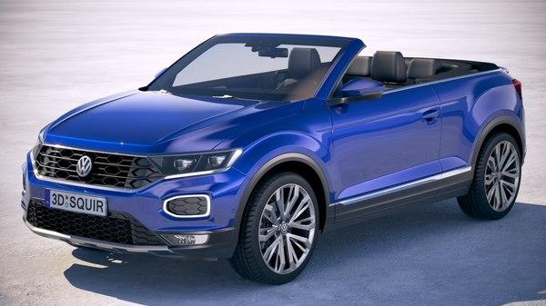 Volkswagen T-Roc Cabriolet 2020 йил учун расман тасдиқдан ўтди