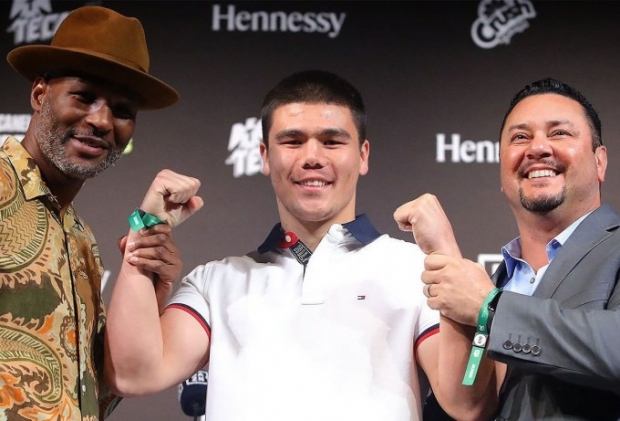 Bektemir Meliqo'ziyev professional boksdagi ilk chempionlik kamarini qo'lga kiritdi
