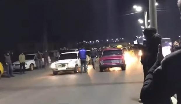 Samarqandda tungi poyga uyushtirgan «forsajchilar» qamaldi (foto, video)