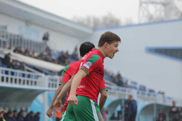 "Погребнякнинг дубли ""Локомотив""га ""Андижон"" устидан ғалаба келтирди"