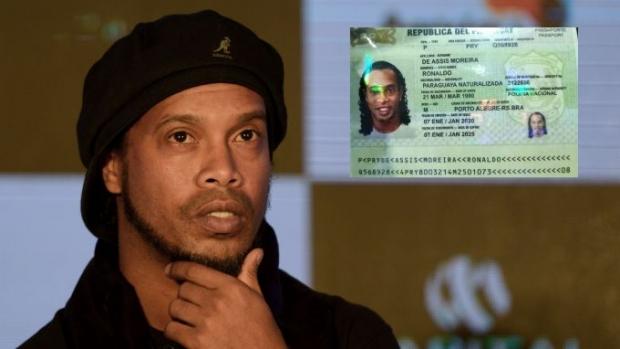Роналдиньо сохта паспорт сабаб Парагвайда ҳибсга олиниши мумкин