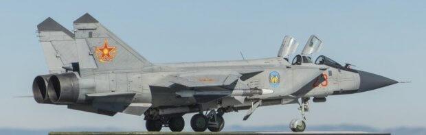 Qozog'istonda MiG-31 qiruvchi samolyoti qulab tushdi (video)