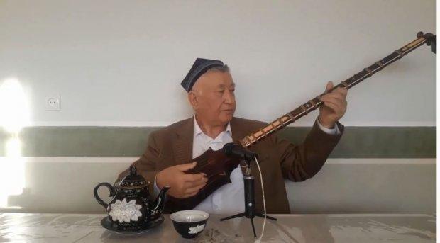 Ўзбекистон Халқ ҳофизи Махмуджон Тожибоевдан жонли ижрода ашула тингланг